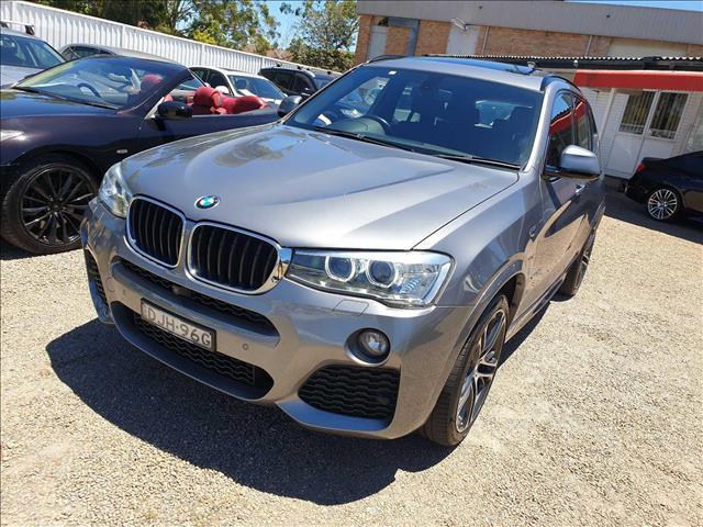 2016  BMW X3 xDrive20d F25 LCI Wagon