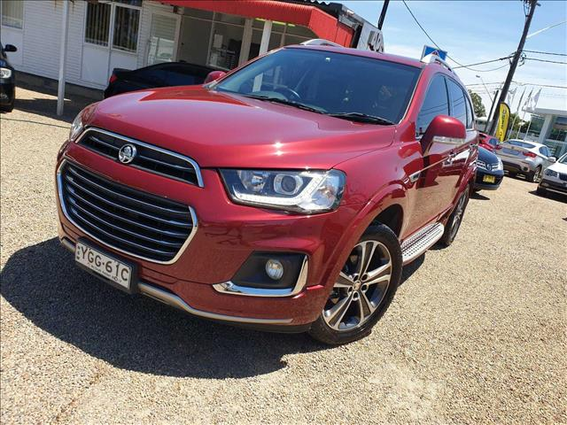 2017  Holden Captiva LTZ CG Wagon