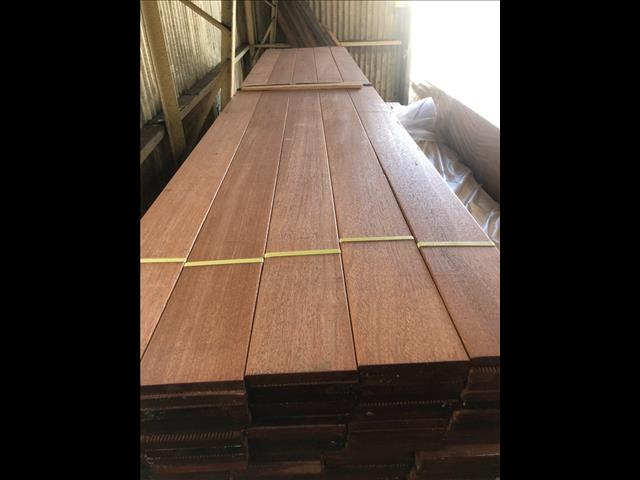 Merbau decking 140x19 from $7.40 per metre
