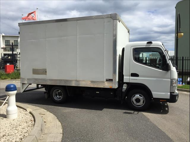 2012 FUSO CANTER 515 DUONIC TURBO DIESEL 4 CYL BOX TRUCK