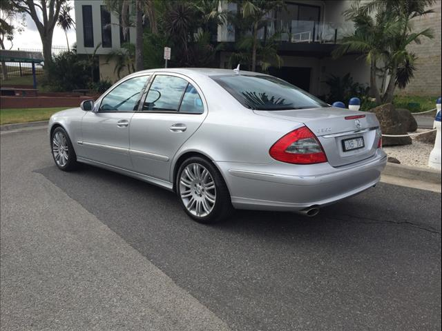 2007 MERCEDES-BENZ E350 AVANTGARDE 211 MY07 UPGRADE 4D SEDAN