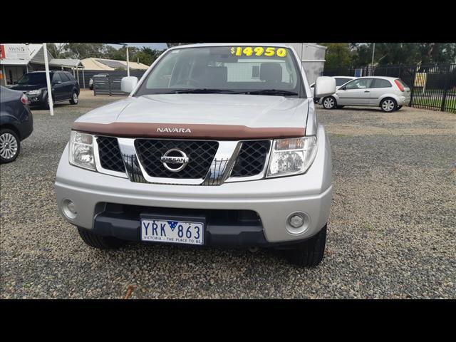 2011 NISSAN NAVARA ST (4x4) D40 DUAL CAB P/UP