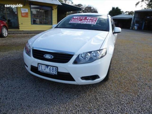 2011 FORD FALCON XT FG UPGRADE 4D SEDAN