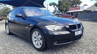 2007 BMW 3 20d EXECUTIVE E90 07 UPGRADE 4D SEDAN