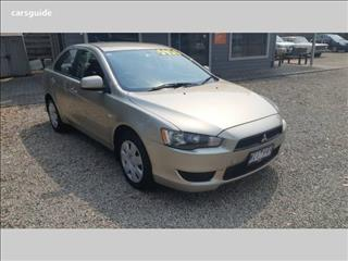2008 MITSUBISHI LANCER ES CJ 4D SEDAN