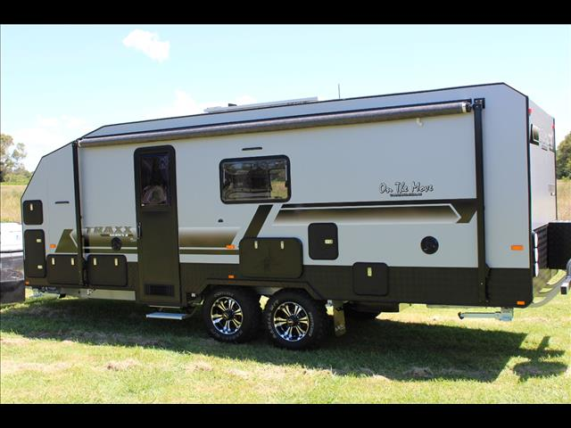 2018 On The Move TRAXX Series 2 Family Dirtroader Semi Off Road Caravan