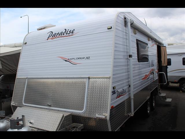 2009 Paradise Caravans Explorer XL Off Road Caravan