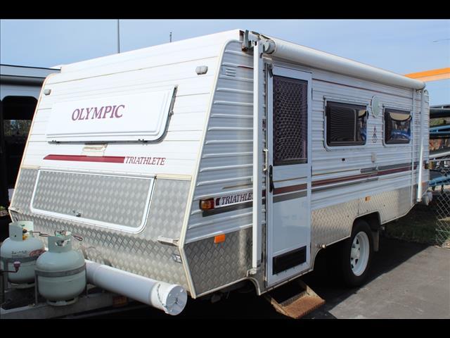 2005 Olympic Caravans Triathlete Off Road Pop Top