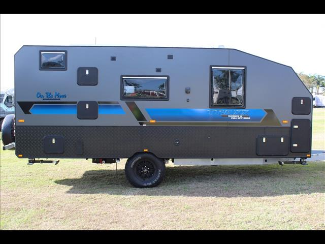 2021 On The Move 17'6 TRAXX Series 2 Off Road Caravan