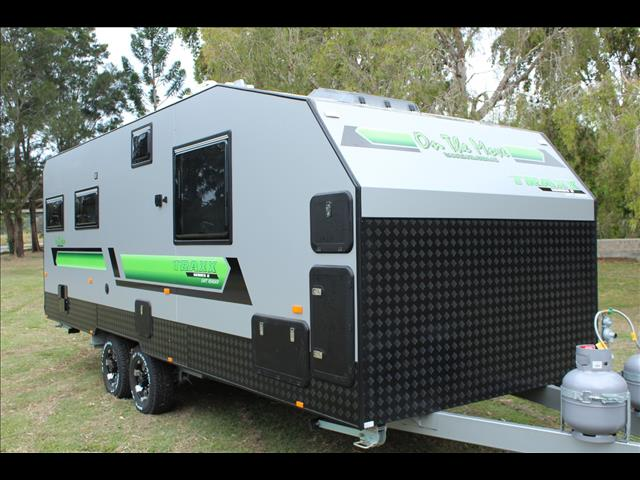 2018 On The Move Caravans Series 2  Club lounge Dirt Roader 21'6