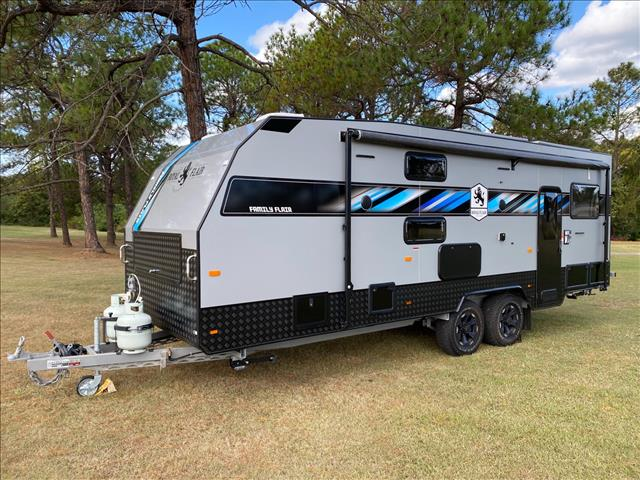 2021 Royal Flair Caravans Family Flair 24' 4 Bunks