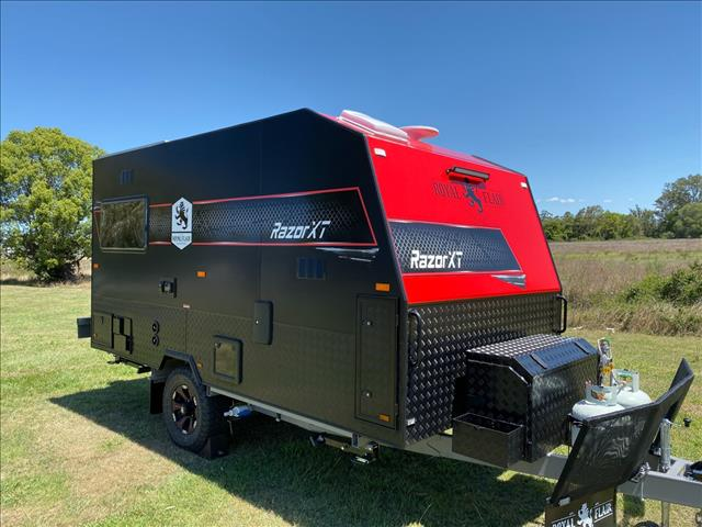2021 Royal Flair Razor XT 14'6 Club Lounge Off Road Caravan