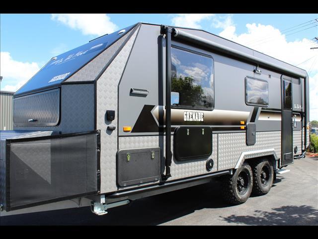 2018 On The Move Grenade Series 2 Off Road Caravan