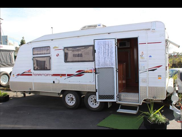 2006 Supreme Territory Semi Off Road Caravan