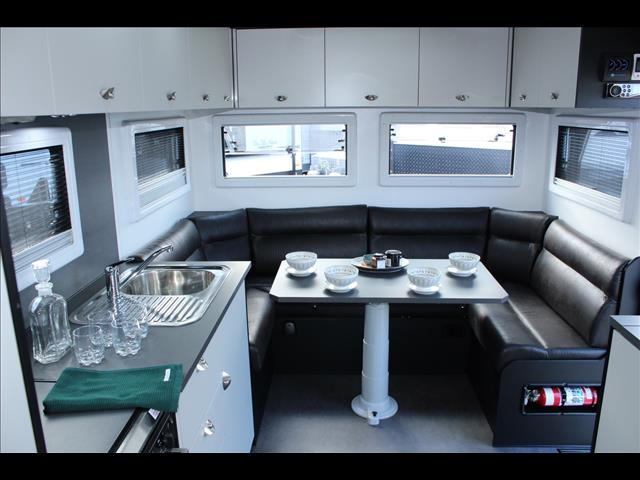 2020 On The Move Caravans Series 2  Club lounge Dirt Roader 21'6