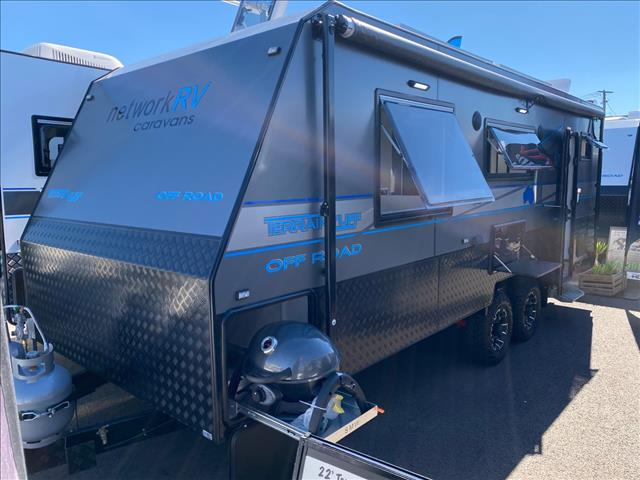 2021 Network RV Caravans Terrain Tuff 22' Side Club Lounge