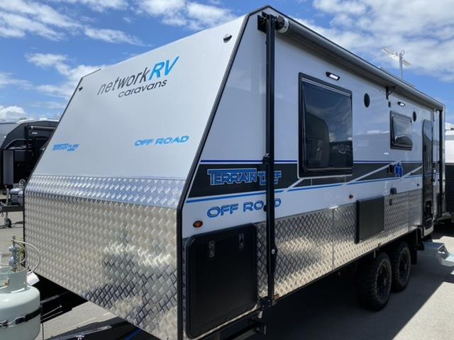 2021 Network RV Caravans Terrain Tuff 21'6 Club Lounge