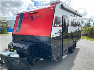 2020 Royal Flair Razor XT 16'6 Bunk Caravan