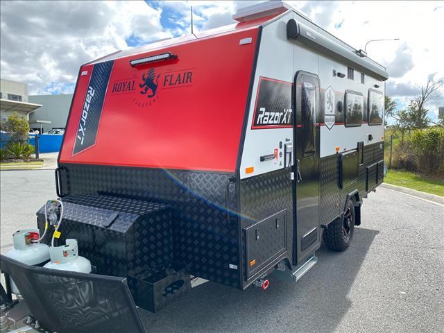 2021 Royal Flair Razor XT 17'6 Bunk Caravan