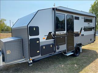 2020 On The Move Caravans TRAXX Toy Hauler 16'6
