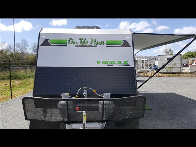 2017 On The Move TRAXX Bunk caravan