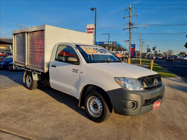 2009 TOYOTA HILUX WORKMATE TGN16R 08 UPGRADE C/CHAS