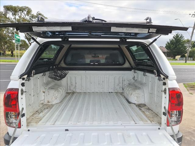 2016 TOYOTA HILUX SR5 (4x4) GUN126R DUAL CAB UTILITY