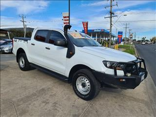 2017 FORD RANGER XLS 3.2 (4x4) PX MKII MY17 UPDATE DUAL CAB UTILITY