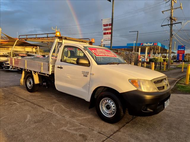 2008 TOYOTA HILUX WORKMATE TGN16R 07 UPGRADE C/CHAS