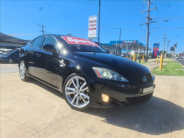 2007 LEXUS IS250 SPORTS GSE20R 4D SEDAN