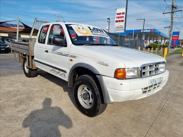 2000 FORD COURIER XL (4x4) PE SUPER C/CHAS