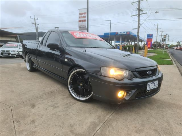 2007 FORD FALCON XR6T BF MKII UTILITY