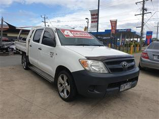 2006 TOYOTA HILUX WORKMATE TGN16R DUAL CAB P/UP