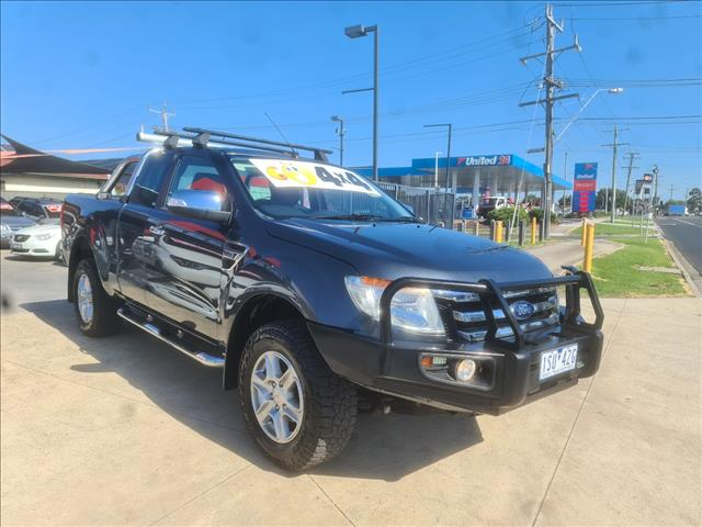 2014 FORD RANGER XLT 3.2 (4x4) PX SUPER CAB PICK UP