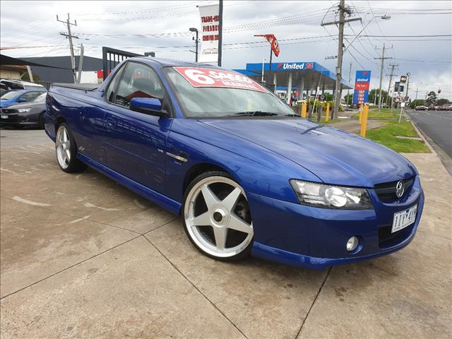 2004 HOLDEN COMMODORE SS VZ UTILITY