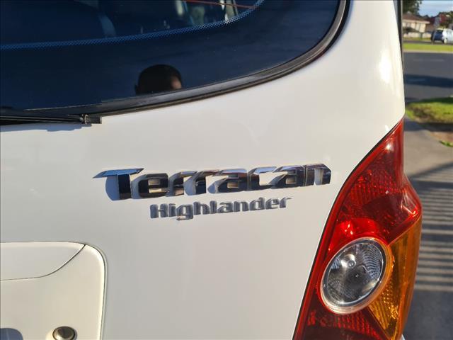 2004 HYUNDAI TERRACAN HIGHLANDER 4D WAGON