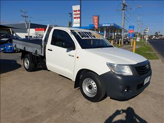 2014 TOYOTA HILUX WORKMATE TGN16R MY14 C/CHAS