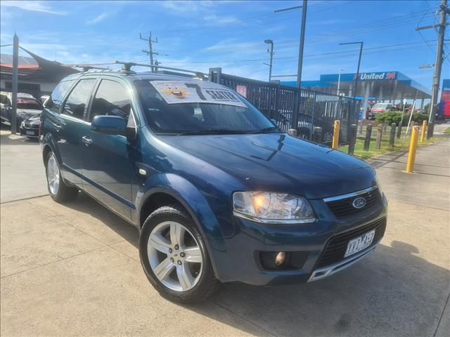 2009 FORD TERRITORY TS LIMITED EDITION (RWD) SY MKII 4D WAGON