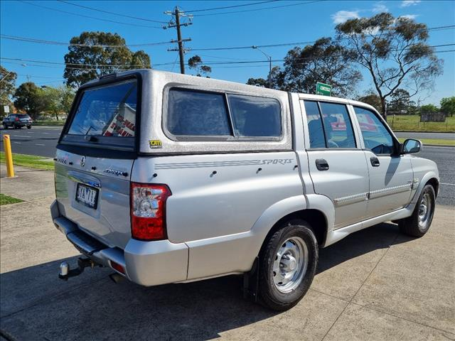 2004 SSANGYONG MUSSO SPORTS DUAL CAB P/UP