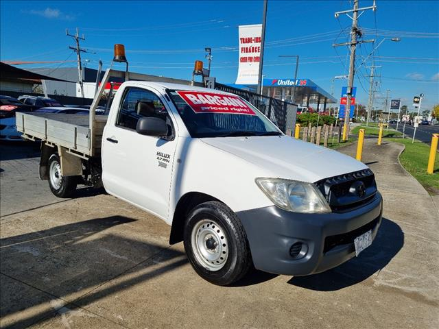 2010 TOYOTA HILUX WORKMATE TGN16R 09 UPGRADE C/CHAS