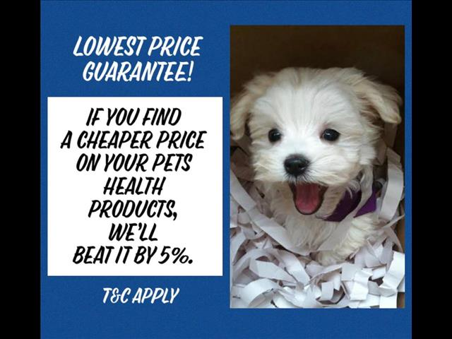 Pet Health Products - At [@Name value='Puppy Palace Pet Shop