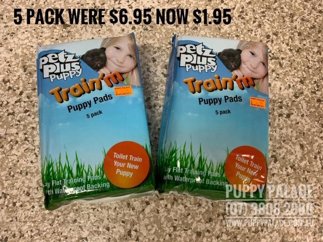Puppy Training Pads - Pee Pads - $1.95 Pk 5. [@Name value='Puppy Palace Pet Shop