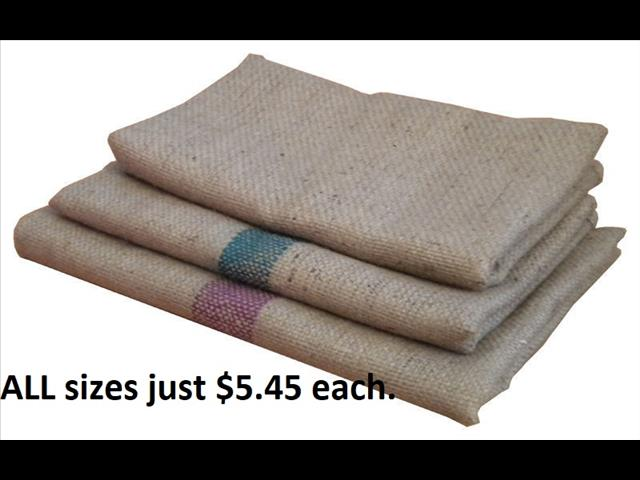 Hessian Replacement Covers - Cheap Everyday Price.  All sizes just $5.45 each.