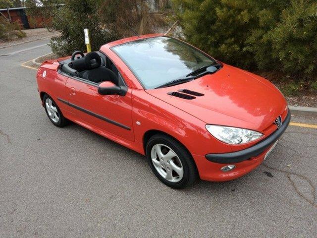 2001 Peugeot 206 CC T1 MY01.5 Cabriolet