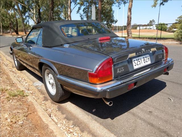 1989 JAGUAR XJS V12 2D CONVERTIBLE