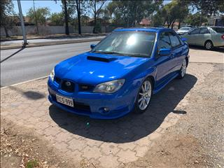 2006 SUBARU IMPREZA WRX CLUB SPEC EVO 9 MY06 4D SEDAN