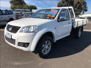 2013 GREAT WALL V200 (4x4) K2 C/CHAS