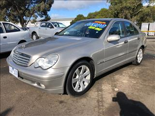 2003 MERCEDES-BENZ C180 KOMPRESSOR CLASSIC W203 4D SEDAN