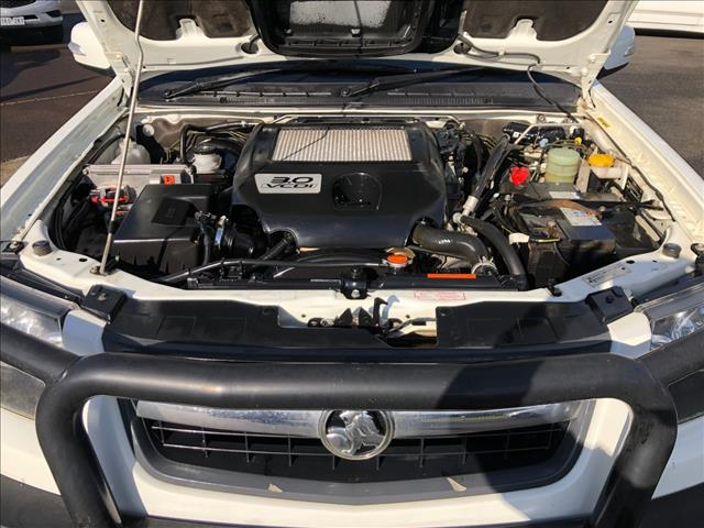 2010 HOLDEN COLORADO LX (4x4) RC MY10.5 SPACE C/CHAS