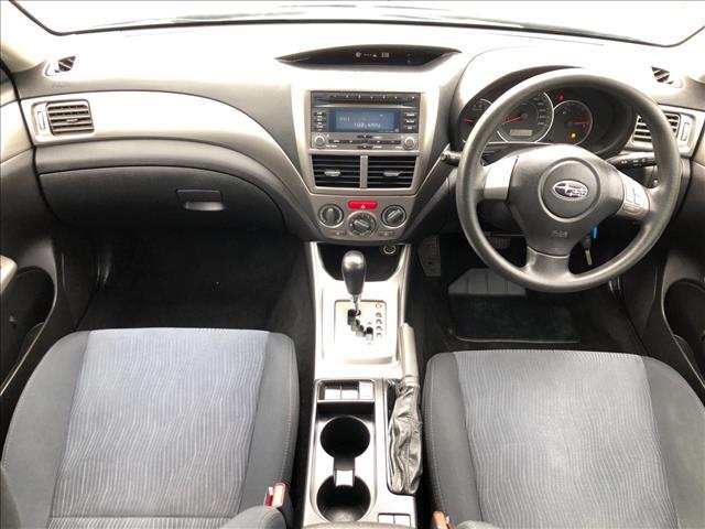 2009 SUBARU IMPREZA R (AWD) MY09 5D HATCHBACK